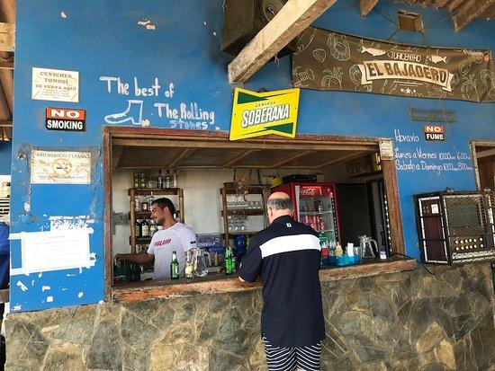 Bar at the beach