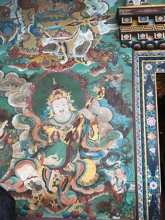 Guru Lhakhang Monastery張圖片