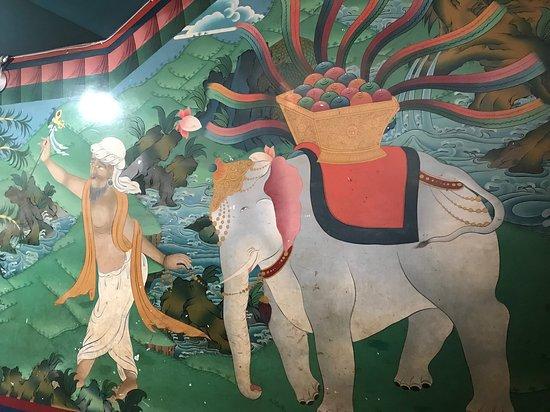 Guru Lhakhang Monastery decoration 3