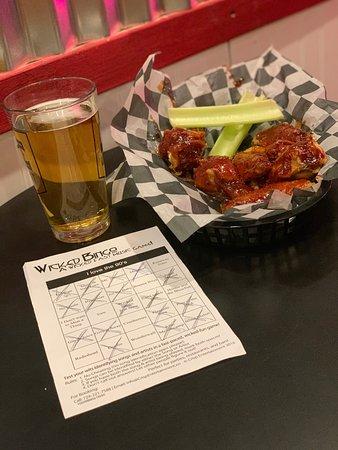 Indiana, PA: Wings and Bingo!