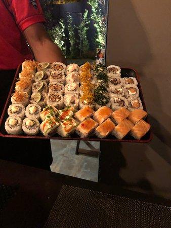 Umuarama, PR: Variedades de sushis