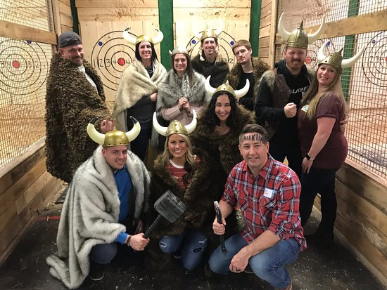 Ragnarok Axe Throwing