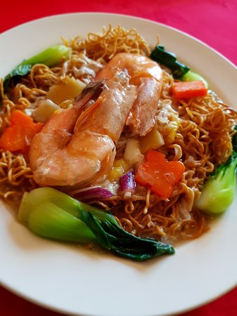 King Prawn Cantonese style Noodle