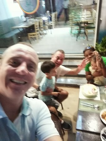 Trapizza Western and Cambodian Cuisine: Family day out