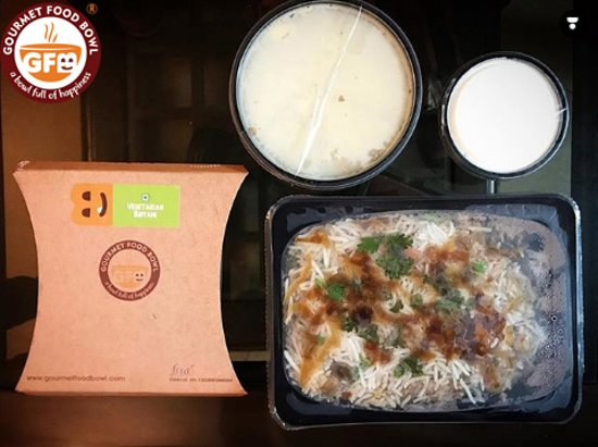Gourmet Food bowl: Thank you for your yummy feedback @vageeshabahel!  Delicious Vegetarian Biryani by @gourmetfoodbowl ⠀ I think Biryani is really really 'IN' these days! What do you say?⠀ ..⠀ .⠀ .⠀ .⠀ .⠀ .⠀ .⠀ .⠀ .⠀ .⠀ #chandigarh #chandigarhblogger #chandigarhfood #chandigarhfoodblogger #chandigarhyoutuber #chandigarhfashionblogger #chandigarhlifestyleblogger #chandigarhinfluencer #indianyoutuber #indianfoodblogger #indianblogger #indianinfluencer #indianlifestyleblogger #indiantravelblogger #indianbeautyblogger