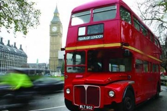 Vintage London Bus Tour Including...