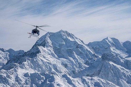 福克斯冰川和庫克山直升機飛行