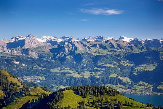 Mount Rigi and Lucerne Summer Day...