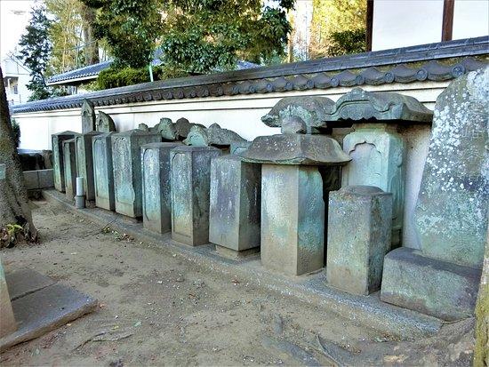 Renkeiji Temple: 歴代住職の墓