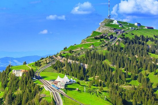Uavhengig tur på Rigi-fjellet fra...