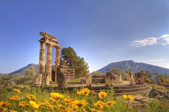 Privat tur: Delphi Dagstur fra Athen...