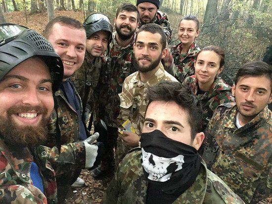 Paintball & Airsoft Shooter Bacau