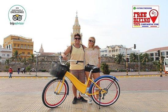 Kostenlose Radtour durch Cartagena