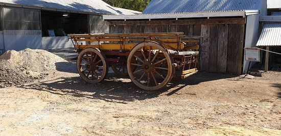 Yankalilla District Historical Museum  old dray