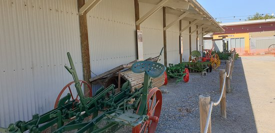 Yankalilla District Historical Museum  ploughs