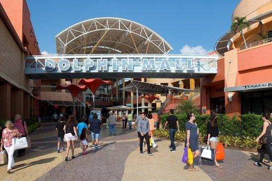 前往南海滩和市中心环路的海豚购物中心