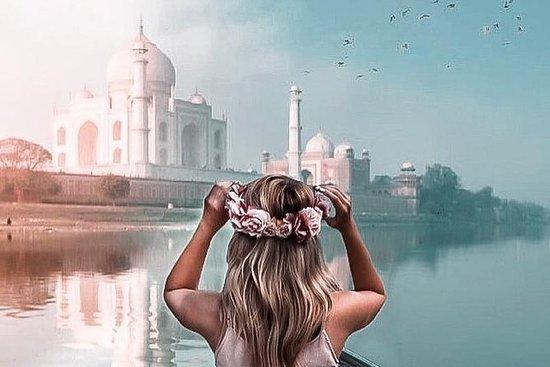 Privat Taj Mahal Solnedgang og...