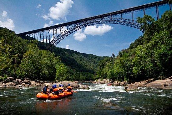 降低新河白水漂流之旅