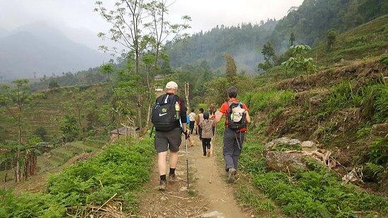 Trekking fra Bac Ha til Ha Giang 7...