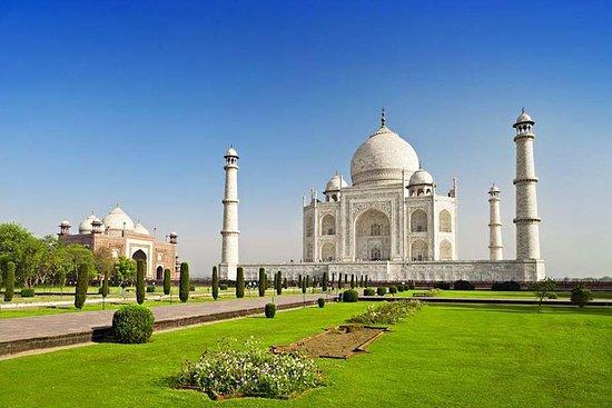 Samme dag Taj Mahal tur fra Delhi