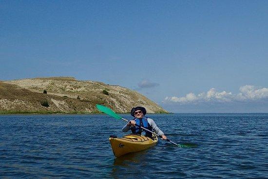 Semaine de kayak autour de la lagune...