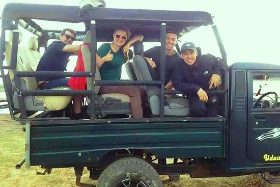 Udawalawa National Park safari jeep...