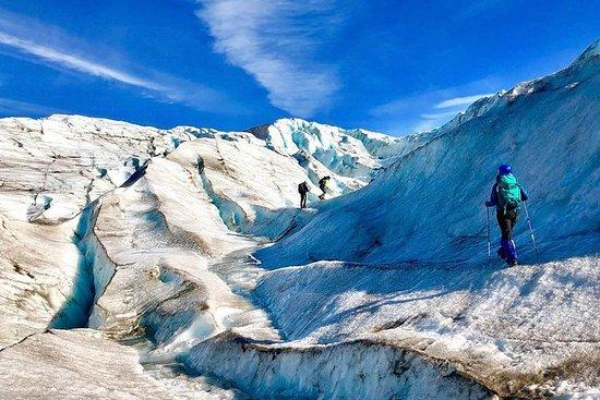 Salir a la aventura de hielo en el...