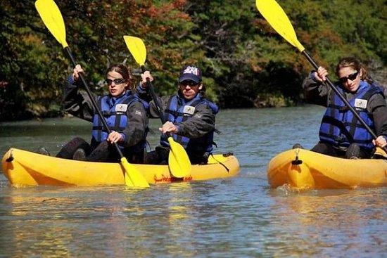Kayak en el río Liucura desde Pucón