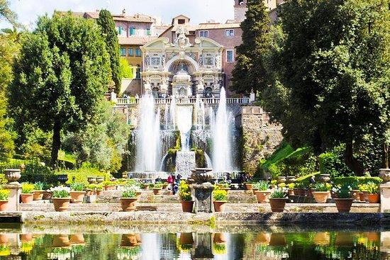 Visite de Rome à Tivoli avec Hadrian...