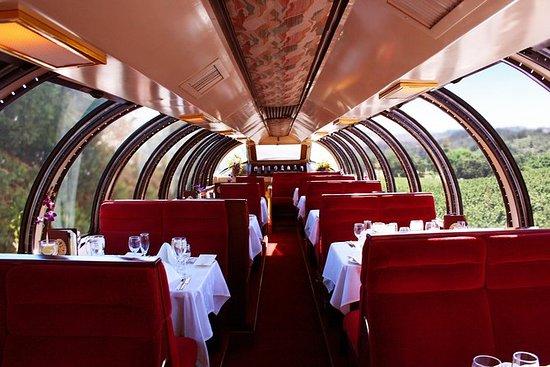 Napa Valley Vin Train Vista Dome Car