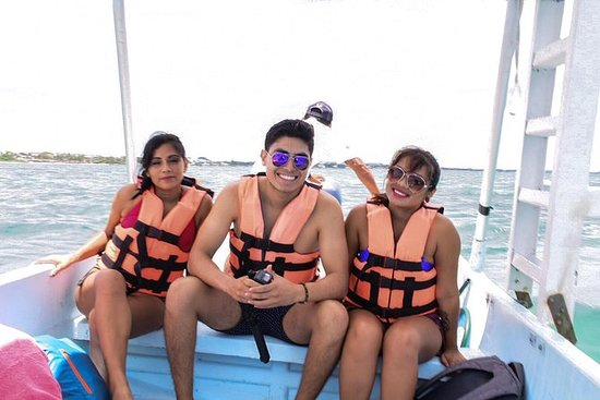 Snorkeling & Bike Tour in Puerto Morelos From Cancun and Playa del carmen: Snorkeling tour in Puerto Morelos and lunch