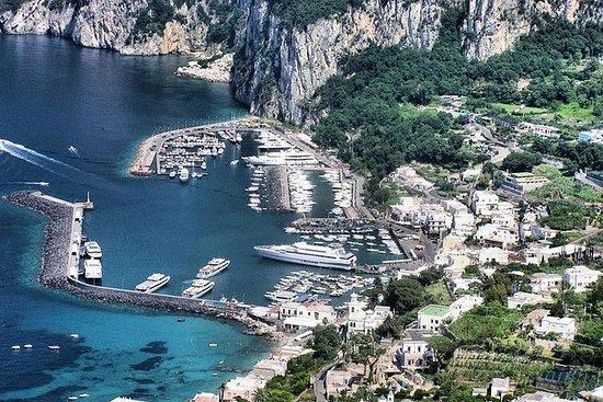 从那不勒斯或索伦托直升机卡普里岛观光旅游
