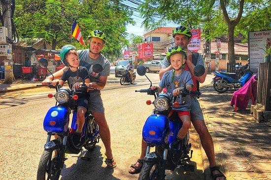 生态探险电动自行车之旅探索农村