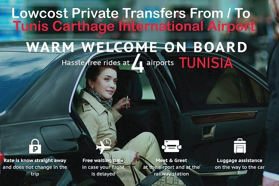 Transfert en voiture standard de...