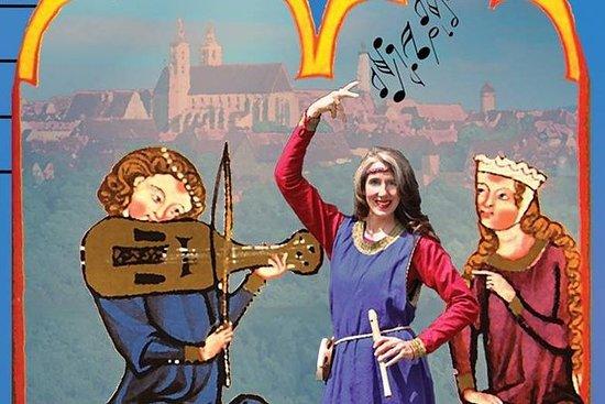Middelalderlig musikalsk tur til...