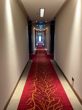 Lovely clean hotel, friendly staff, good congress venue
