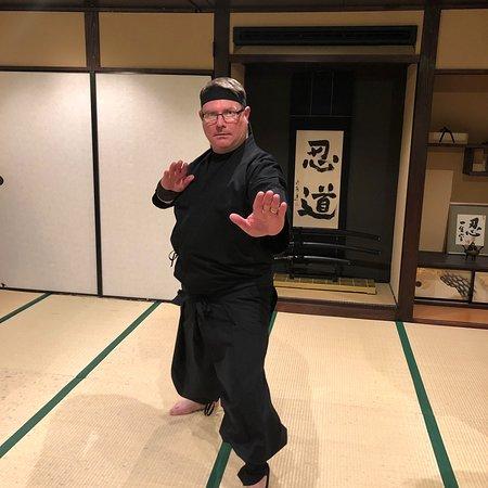 Real ninja training
