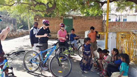 Cycling in Udaipur Rajasthan India
