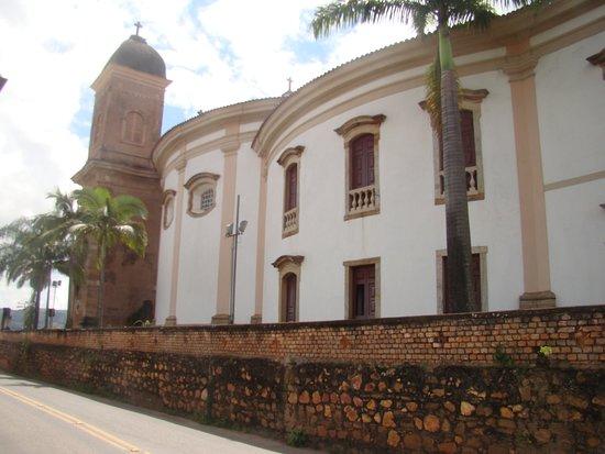 Lateral ovalada da Igreja São Pedro dos Clérigos