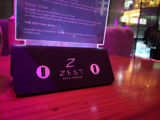 Zest Bar & Terrace: Zest