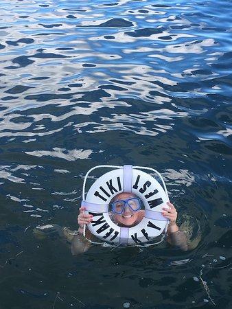 Cruisin' Tikis KeyWest: Swim Stop