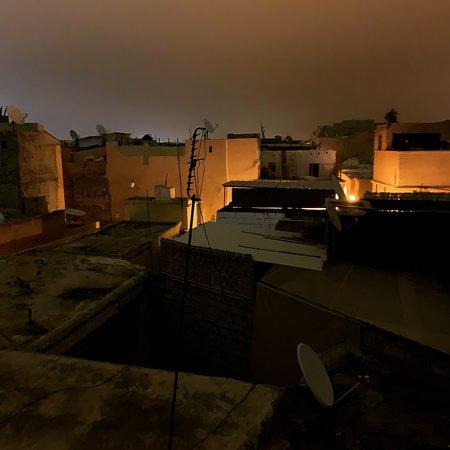 über den Dächern von Marrakech - auf der Dachterrasse