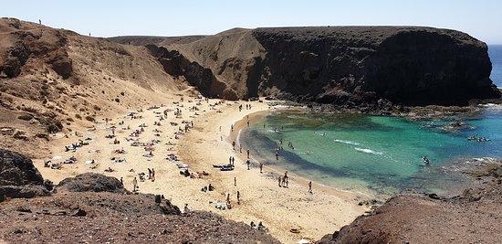Playa de Papagayo: Der erste Blick
