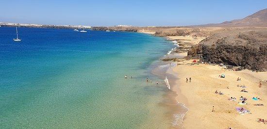 Playa de Papagayo: Fast endlose Strände bei Ebbe