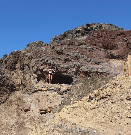 Playa de Papagayo: Höhlenbewohner :-)