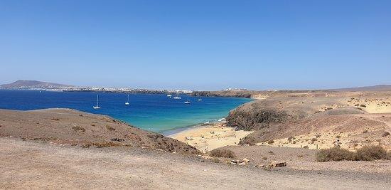 Playa de Papagayo: Der letzte Blick zum Abschied