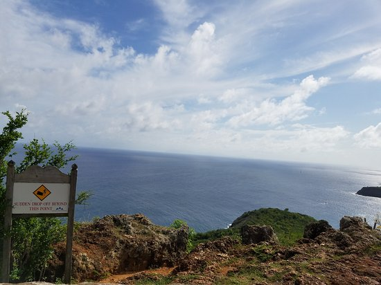 Antigua: The view from up here.... breath taking. shirleyheights