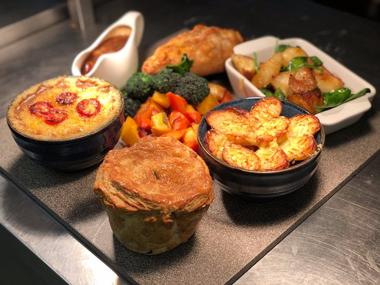 selection of home made pasties and pies