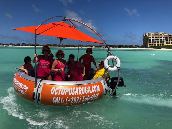 Octopus Aruba - When was the last time you did something for the first time? Rent A Boat Now - Get in touch with us for tailor-made offers!