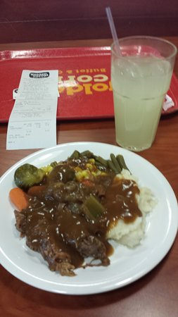 Their Awesome Pot Roast really is awesome